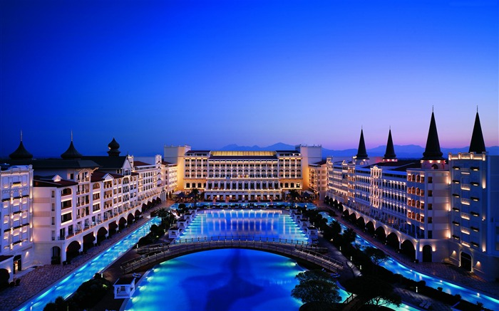Turkey Best Hotels Mardan Palace-Cities Photo HD Wallpaper Views:2628