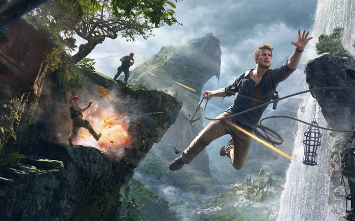 Uncharted 4-Game Posters HD Wallpaper Views:1965