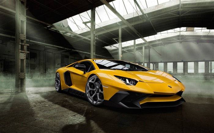 2016 Lamborghini Aventador LP750 Auto HD Wallpaper Views:2587