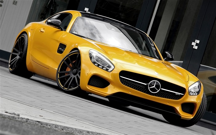 2016 Mercedes Benz AMG GT S Auto HD Wallpaper Views:3436