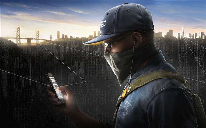 2016 Watch Dogs 2-Game Posters HD Wallpaper Views:1749