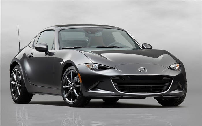 2017 Mazda MX-5 RF Auto Poster HD Wallpaper Views:3504