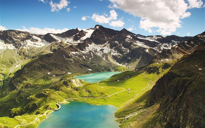 Agnel lake ceresole reale-High Quality HD Wallpaper Views:2228