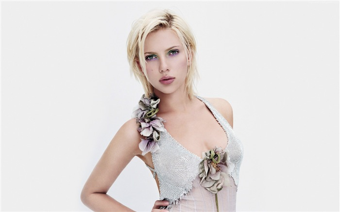 Beautiful actress scarlett johansson-Photo HD Wallpaper Views:1396