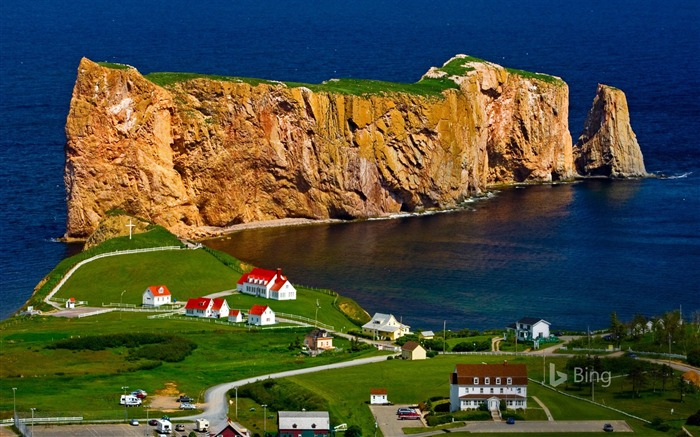 Canada Gaspe Peninsula Quebec-2016 Bing Wallpaper Views:1672