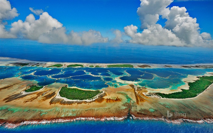 Caroline Atoll Kiribati-2016 Bing Wallpaper Views:1866