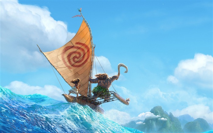 Disney moana 2016 animation-Movies Posters HD Wallpaper Views:5409