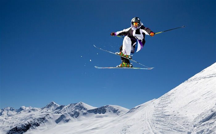 Double plate skiing action-2016 Sport HD Wallpaper Views:1713