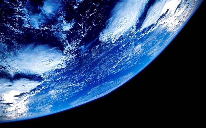 Earth from space close up-Universe Digital HD Wallpaper Views:1158