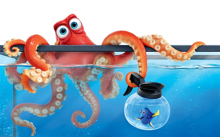 Finding dory hank octopus-Movies Posters HD Wallpaper Views:1874