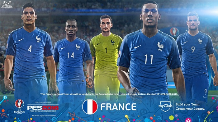France-UEFA Euro 2016 France HD Wallpaper Views:1842 Date:6/4/2016 9:09:25 AM