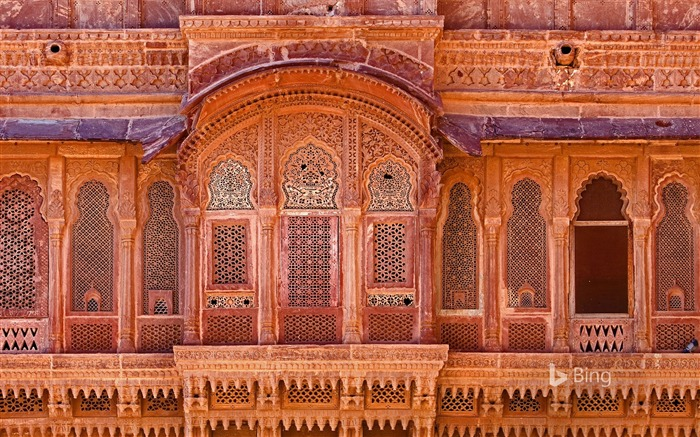 India Jodhpur Mehrangarh-2016 Bing Wallpaper Views:1525