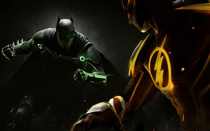 Injustice 2 ps4 2017-Game Posters HD Wallpaper Views:3069