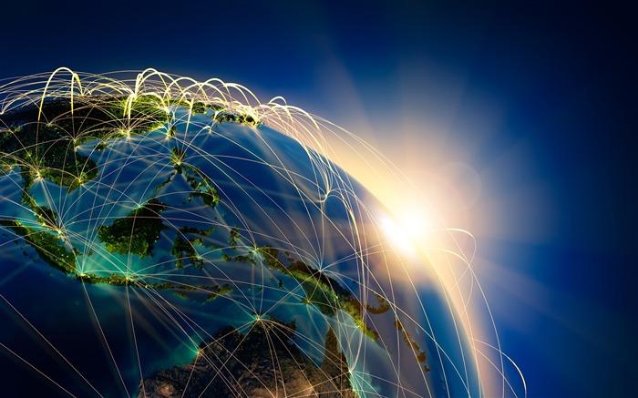 Internet Business Technology Theme HD Wallpaper Album List