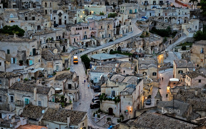 Italy Matera-2016 Bing Wallpaper Views:1706
