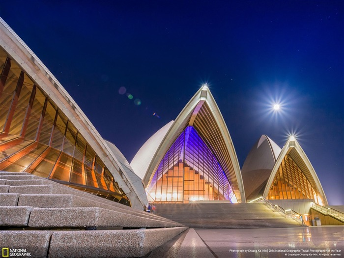 New South Wales Sydney Opera House-2016 National Geographic Wallpaper Views:1522
