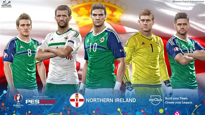 Northern Ireland-UEFA Euro 2016 France HD Wallpaper Views:1721 Date:6/4/2016 9:07:40 AM