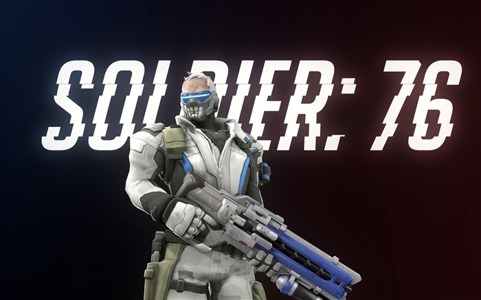 Overwatch Soldier 76-Game Posters HD Wallpaper Views:12354