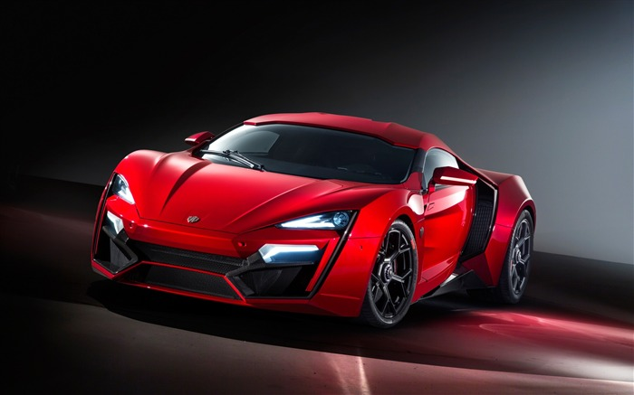 Red lykan hypersport hypercar-2016 High Quality HD Wallpaper Views:3110