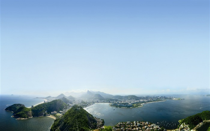 Rio de janeiro sky clouds air-nature HD photo wallpaper Views:2168
