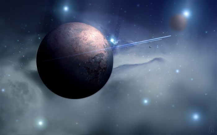 Space planet moon-Universe Digital HD Wallpaper Views:723
