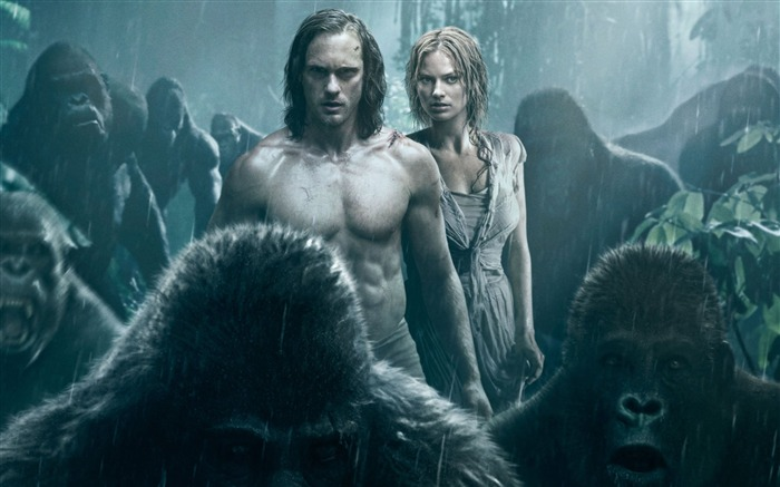 The legend of tarzan-Movies Posters HD Wallpaper Views:1580