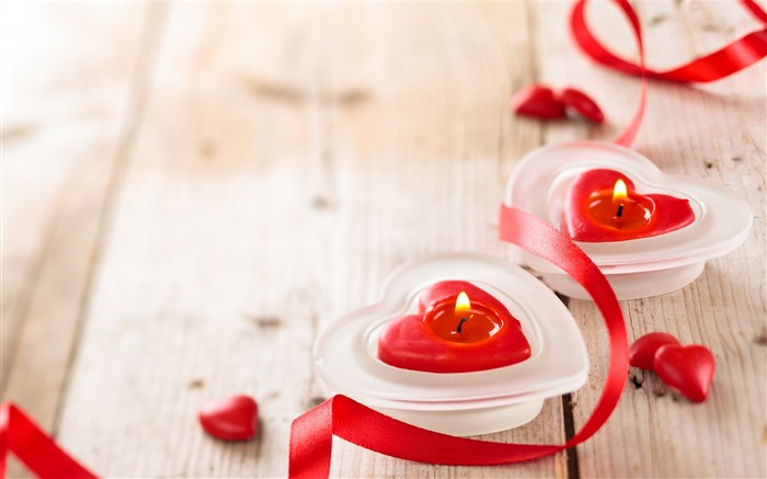 Valentines day candle romantic-High Quality HD Wallpaper Views:1772