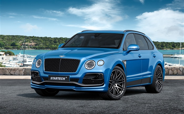 2016 Bentley bentayga-Luxury Car HD Wallpaper Views:1428