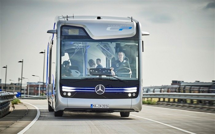 2016 Mercedes-Benz Future Bus HD Wallpaper 01 Views:1612