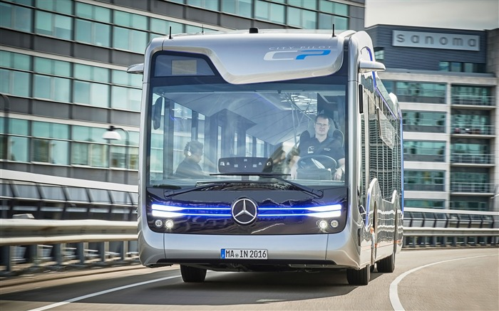 2016 Mercedes-Benz Future Bus HD Wallpaper 02 Views:1457