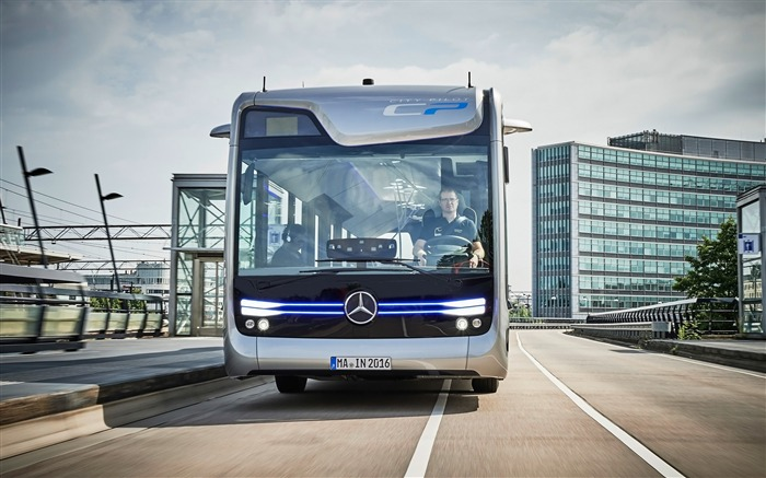 2016 Mercedes-Benz Future Bus HD Wallpaper 03 Views:1380