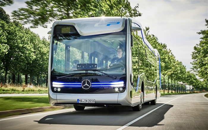 2016 Mercedes-Benz Future Bus HD Wallpaper 04 Views:1309