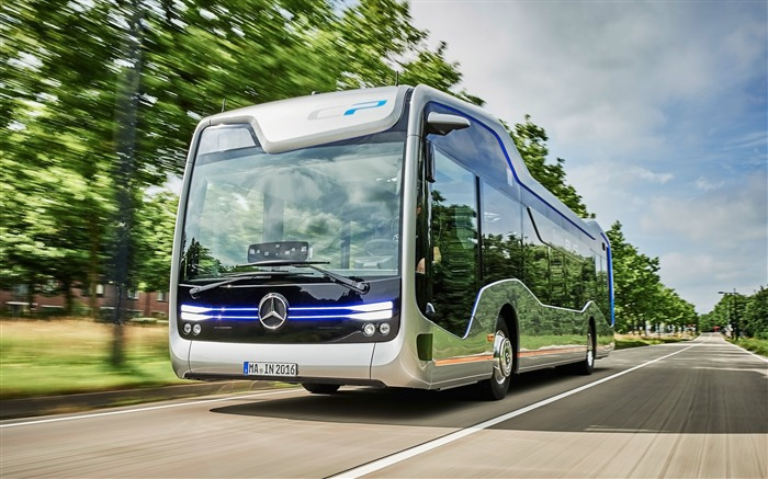2016 Mercedes-Benz Future Bus HD Wallpaper 06 Views:1412