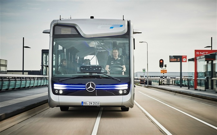 2016 Mercedes-Benz Future Bus HD Wallpaper 08 Views:1214