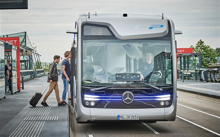 2016 Mercedes-Benz Future Bus HD Wallpaper 16 Views:1077