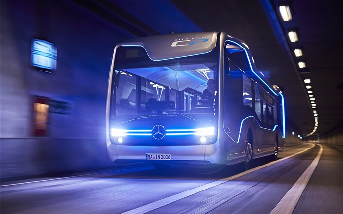 2016 Mercedes-Benz Future Bus HD Theme Wallpaper Views:3362