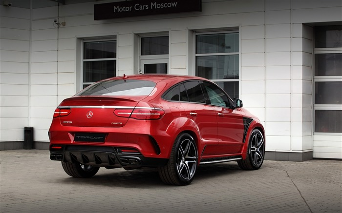 2016 Red Mercedes-Benz GLE Inferno HD Wallpaper 04 Views:1409