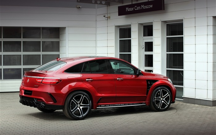 2016 Red Mercedes-Benz GLE Inferno HD Wallpaper 05 Views:1861
