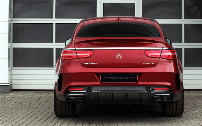 2016 Red Mercedes-Benz GLE Inferno HD Wallpaper 06 Views:1599