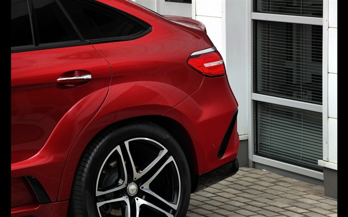 2016 Red Mercedes-Benz GLE Inferno HD Wallpaper 08 Views:1663