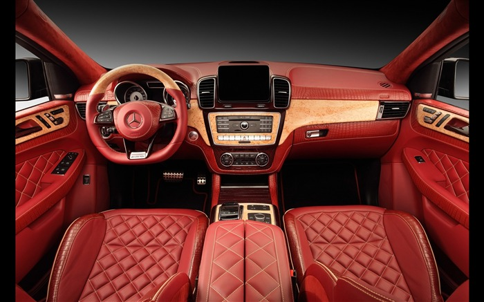 2016 Red Mercedes-Benz GLE Inferno HD Wallpaper 14 Views:1520