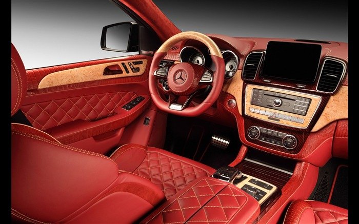 2016 Red Mercedes-Benz GLE Inferno HD Wallpaper 15 Views:2029