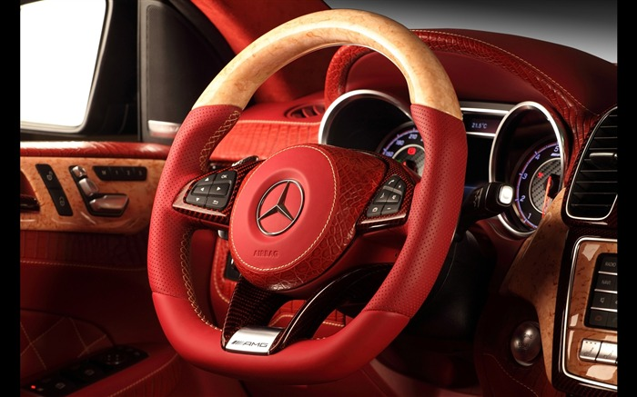 2016 Red Mercedes-Benz GLE Inferno HD Wallpaper 23 Views:926