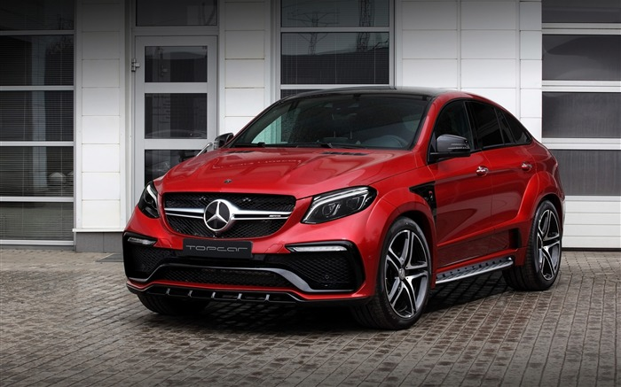 2016 Red Mercedes-Benz GLE Inferno HD Wallpaper Views:4191