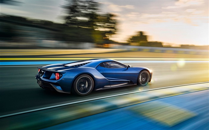 2017 Ford GT 2-Luxury Car HD Wallpaper Views:4586