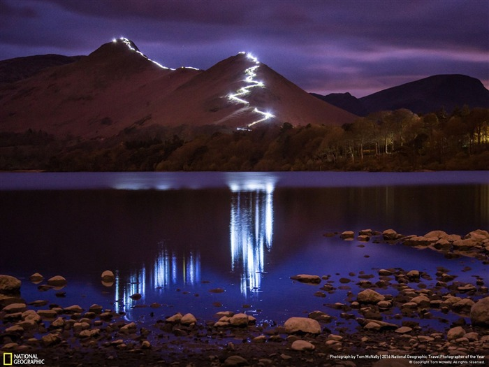 Catbells Festival of Light-National Geographic fondo de pantalla Vistas:2183
