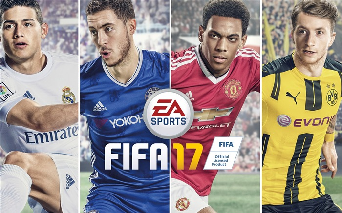 FIFA 17 EA Sports Game HD Theme Wallpaper Views:5763