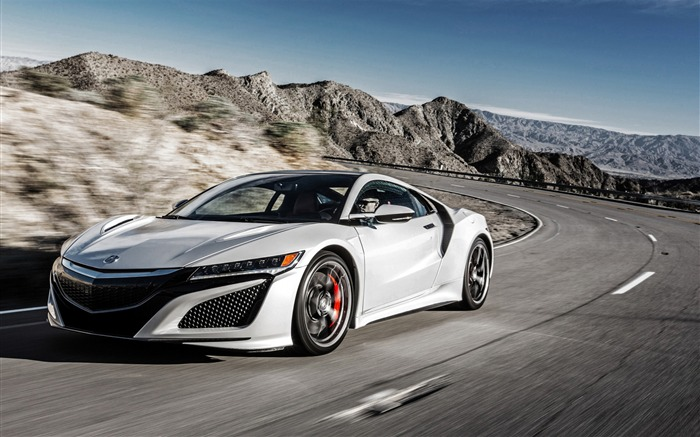 Honda Acura NSX-Luxury Car HD Wallpaper Views:1562