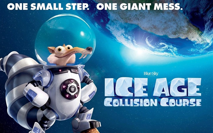 Ice Age Collision Course 2016 Movies Poster Wallpaper Views:2894
