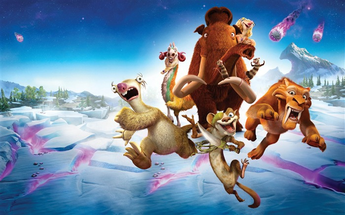 Ice Age Collision Course 2016 Movies Wallpaper 06 Views:1741